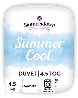 Slumberdown Summer Cool 4.5 Tog Duvet