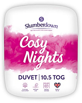 Slumberdown Cosy Nights 10.5 Tog Duvet