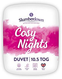 Slumberdown Cosy Nights 10.5 Tog Duvet
