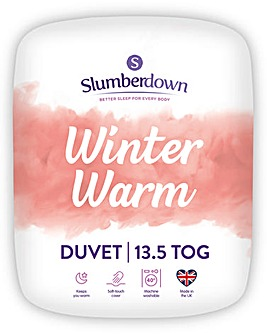 Slumberdown Winter Warm 13.5 Tog Duvet
