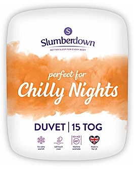 Slumberdown Chilly Nights 15 Tog Duvet