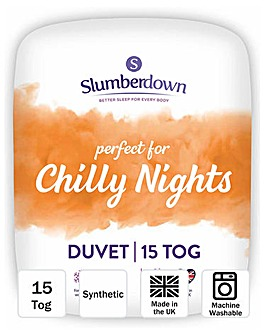 Slumberdown Chilly Nights 15 Tog Duvet