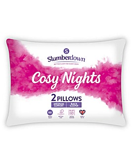 Slumberdown Cosy Nights Back Pillow Pair