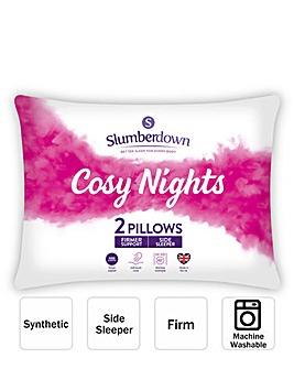 Slumberdown Cosy Nights Side Pillow Pair