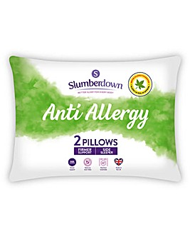 Slumberdown Anti Allergy Firm Pillows