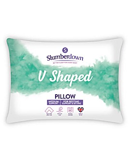 Slumberdown V Shaped Pillow