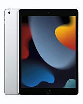Apple 10.2in iPad (9th Gen) WiFi 256GB - Silver