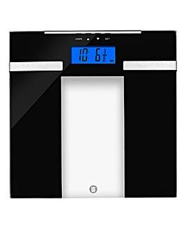 Wellness That Works Ultra Slim Glass Body Analyser Scale