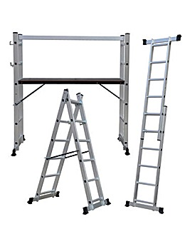 5 Way Multi Purpose Scaffolding Ladder