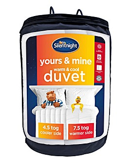 Silentnight Yours and Mine Duvet