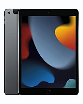 Apple 10.2in iPad (9th Gen) WiFi + Cellular 256GB - Space Grey