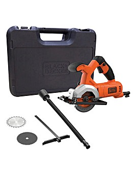 Black + Decker 400w Mini Circular Saw