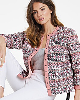 Julipa Quilted Print Jacket