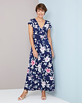Julipa Print Stretch Jersey Dress 52inch