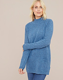 Julipa Boucle Tunic with Pockets