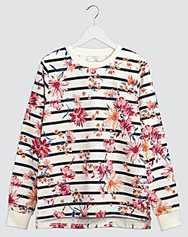 Julipa Leisure Print Sweatshirt