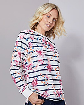 Julipa Leisure Print Sweatshirt