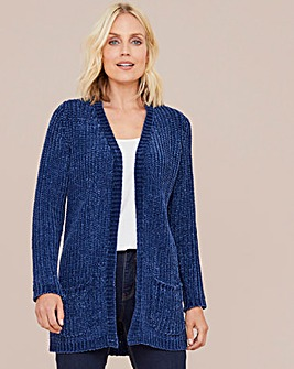 Julipa Chenille Edge to Edge Cardigan