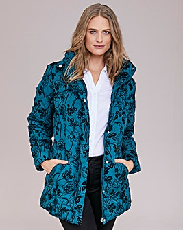Dannimac Padded Jacket with Flock Detail