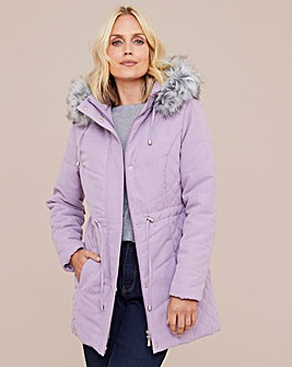 Julipa Microfibre Parka with Hood