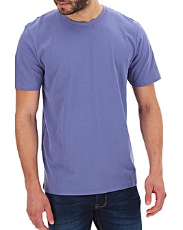 Heather Crew Neck T-shirt Long