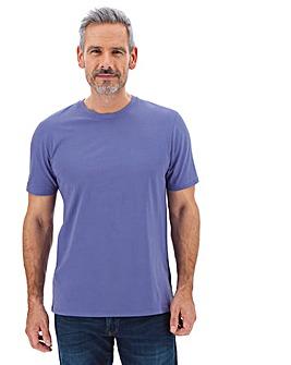 Heather Crew Neck T-shirt Long