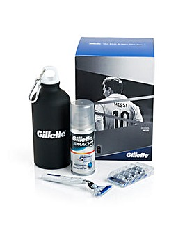 Gillette Mach 3 Turbo Messi Gift Set