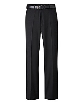 Jacamo Stretch Slim Belted Trouser Regular