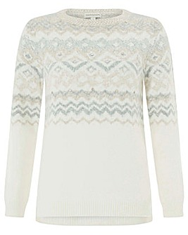 Monsoon Felice Fairisle Jumper