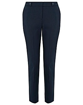 Monsoon Bonnie Button Tab Trouser Crop