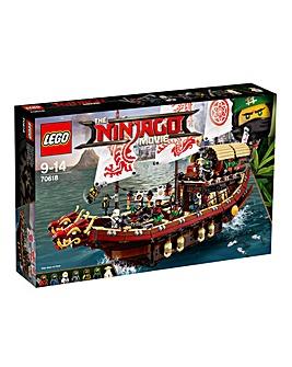 LEGO The NINJAGO Movie Destinys Bounty