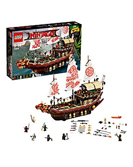 LEGO The NINJAGO Movie Destinys Bounty