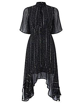 Monsoon Lilith Lurex Stripe Dress
