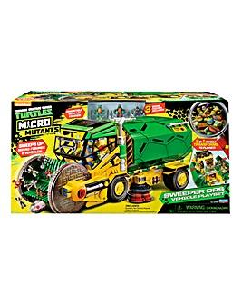 TMNT Micro Mutants Vehicle Playset
