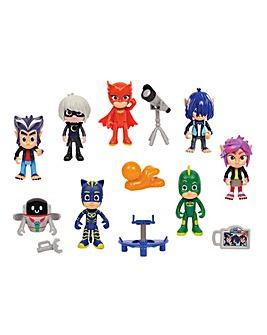 PJ Masks Deluxe 14pc Figure Set