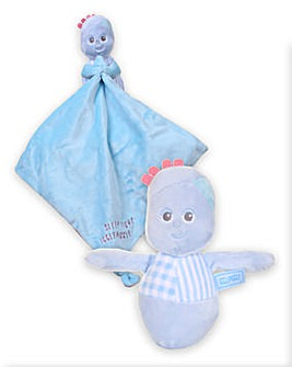 ITNG Igglepiggle Chime Toy and Blanky