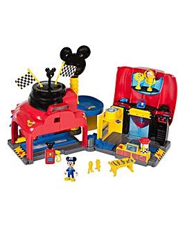 Disney Mickey Roadster Racers Garage