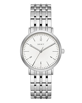 DKNY Ladies Minetta Stainless Steel Bracelet Watch
