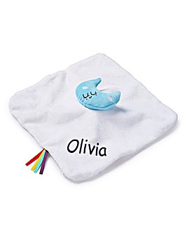 Personalised Baby Say Hello Comforter