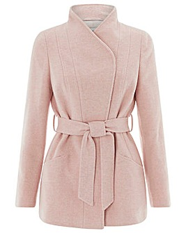 Monsoon Rose Belted Coat