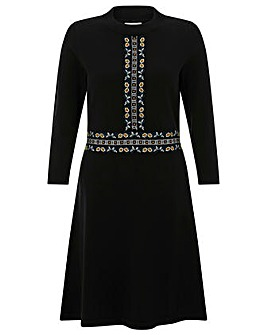 Monsoon Everly Embroidered Dress