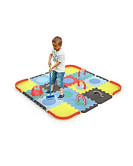 Mini Croquet Floor Mat Puzzle