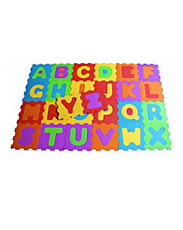 Alphabet Floor Mat Puzzle with 26 Pieces