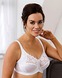 Miss Mary Summer Embroidered Full Cup Wired Bra