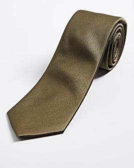 Khaki Plain Tie