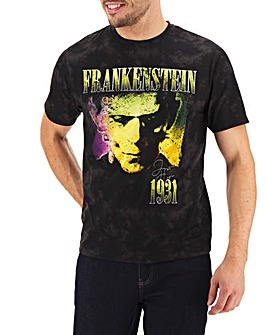 Hype Frankenstein Retro T-Shirt Long