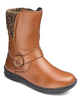 Joe Browns Girls Knit Boots