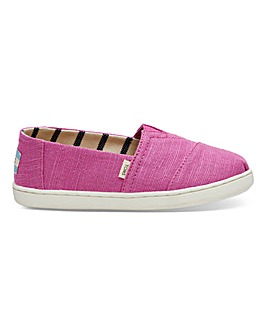 Toms Classic Youth Canvas Espadrille