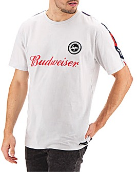 Hype Budweiser Logo Taping Tee Long