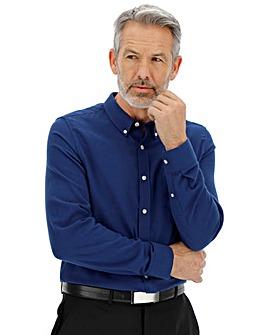 Navy Long Sleeve Flannel Shirt
